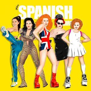 spanish girl cuadro