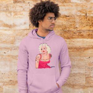marilyn rosa capucha