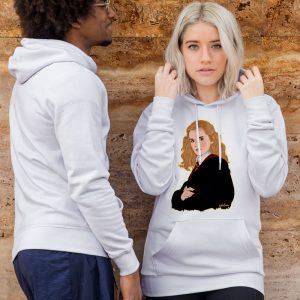 hermione sudadera blanca
