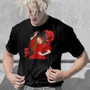 camiseta rosalia negra