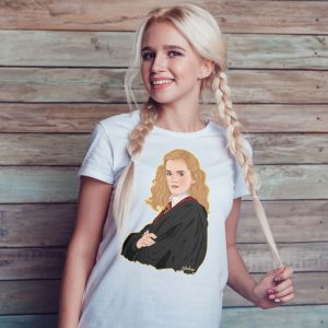 hermione camiseta blanca