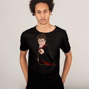 harry camiseta negra